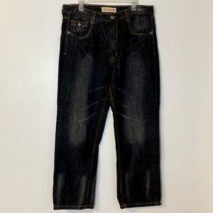 Premium 4 Charcoal Straight Fit Men's Sz 38 x 32